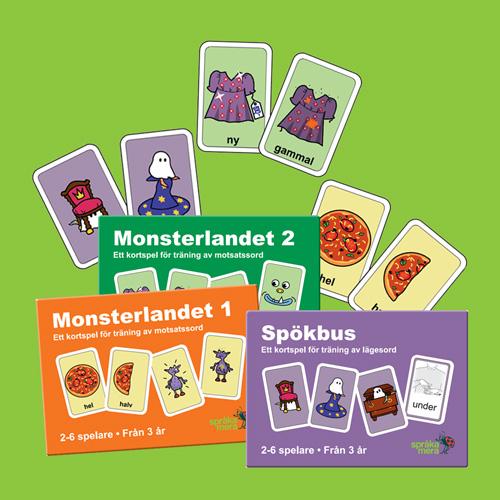 Språka Meras nya kortspel